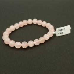 Pendentif coeur en cristal rose