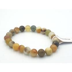 Bracelet Serpentine pierres...