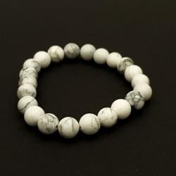 Bracelet Howlite pierres...